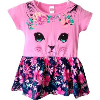 """Светло-розовое платье """"Кошечка"""""""