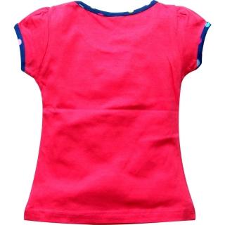 "Красная летняя футболка ""Princess"""