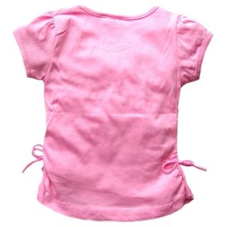 "Светло-розовый комплект футболка и капри ""Сова"""