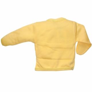 Распашонка желтая с дино