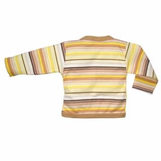 Кофточка желто-полосатая