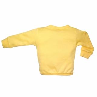 Желтая кофточка с раком