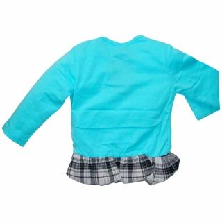 Голубая нарядная кофточка