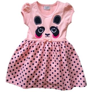"""Розовое платье """"Панда"""""""