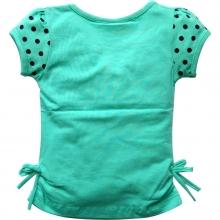 """Зеленая футболка """"Жирафик"""""""