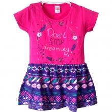 "Розовое летнее платье ""Don't stop dreaming"""