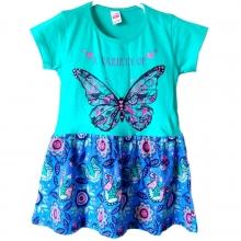 """Зелене літнє плаття """"Метелик"""""""