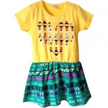 """Желтое летнее платье """"Beauty"""""""