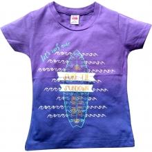 """Фиолетовая футболка """"Surf"""""""