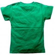 "Зеленая футболка ""Мотоцикл"""