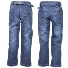 Стильні джинси з ременем