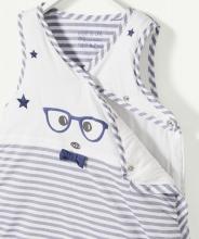 Спальный мешок полосатый