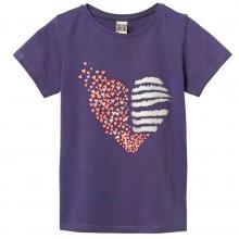 Синяя футболка с сердечком