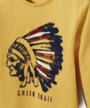 Футболка с индейцем