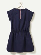 Нарядное платье-сарафан с брошкой