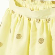 Желтенькая юбочка в горошек