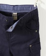 Синие брючки с карманами