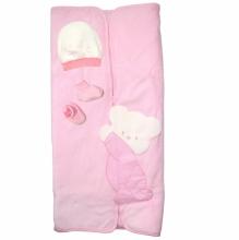 Розовое одеяло-трансформер