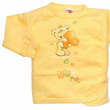 Желтая кофточка с мишкой