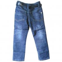 Стильные джинсы с ремнем