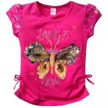 "Розовая футболка ""Бабочка"""