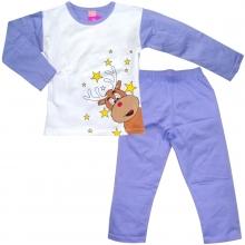 Сиреневая пижама с оленем
